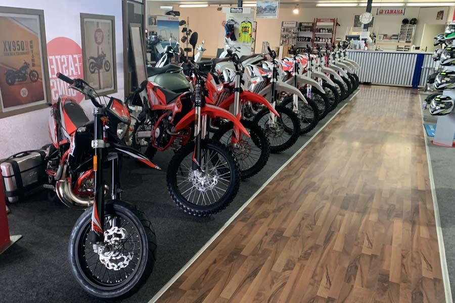 Beta Motorräder bei Motorrad Ressler in Memmingerberg