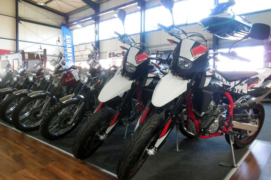 Beta und SWM Motorräder bei Motorrad Ressler in Memmingerberg