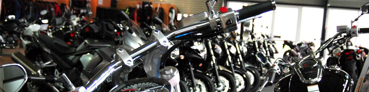 Motorrad Ressler Memmingerberg Ausstellungsraum
