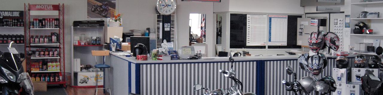 Motorrad Ressler Memmingerberg Servicetheke