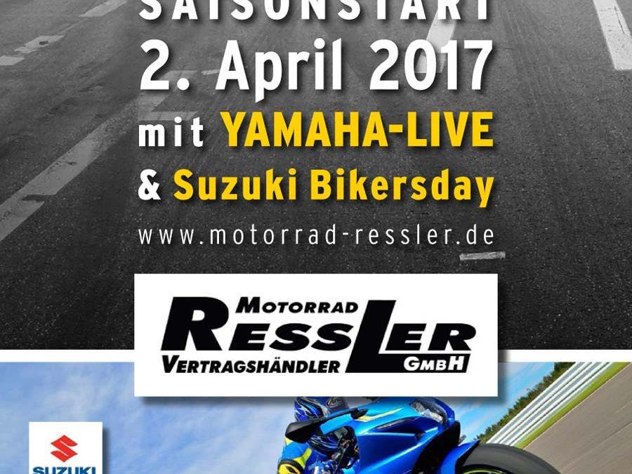 2. April 2017 – Saisonstart bei Motorrad Ressler