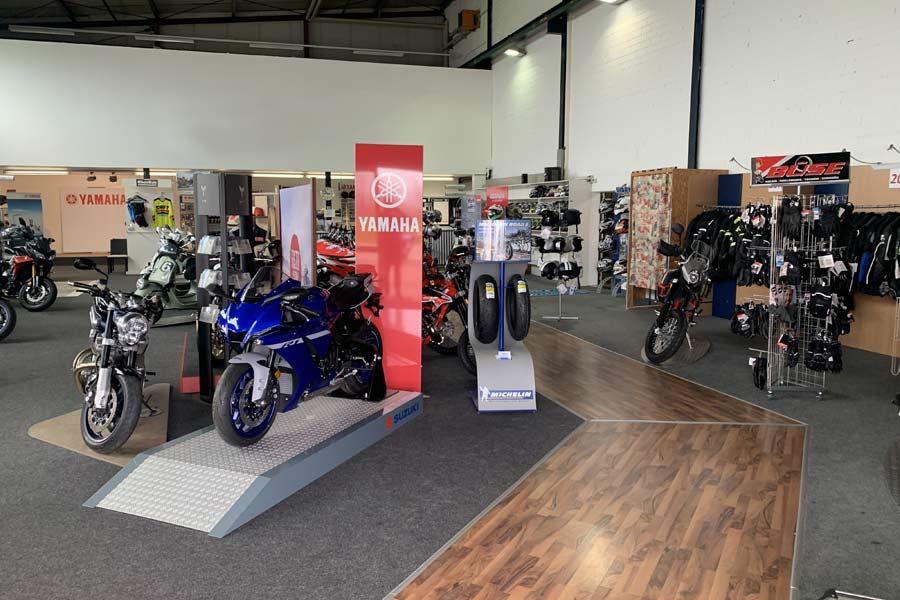 Yamaha Motorräder bei Motorrad Ressler in Memmingerberg
