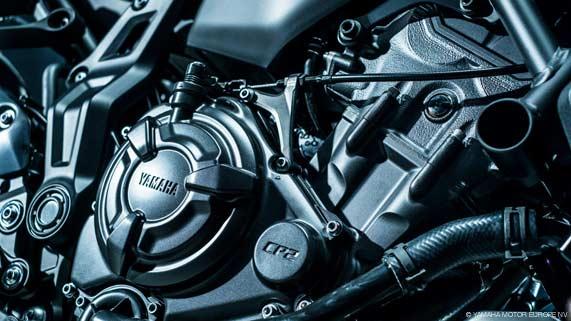 YAMAHA MT-07 (Mod. 2021) Motor rechts