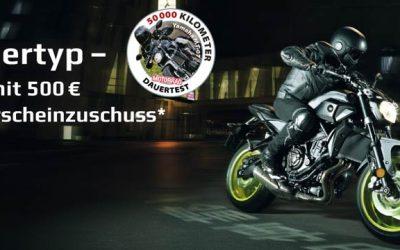 Siegertyp – jetzt mit 500.– € Führerscheinzuschuss*