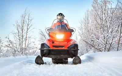 Yamaha Schneemobile
