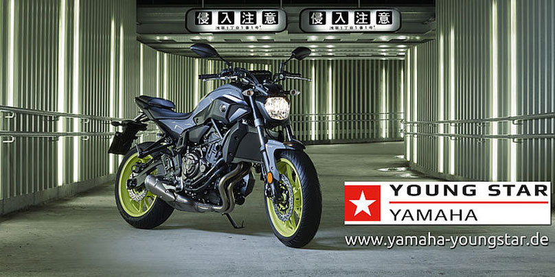 Yamaha MT-07 Young Star Promotion